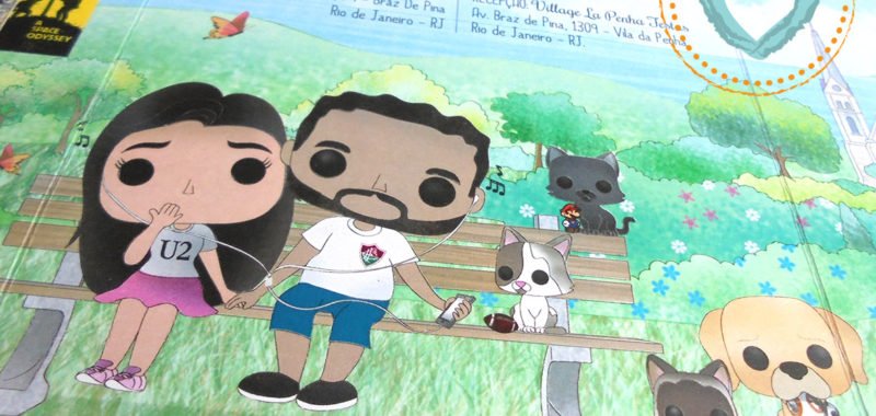 Convite com  Funko Pop, Cinema e Pets!